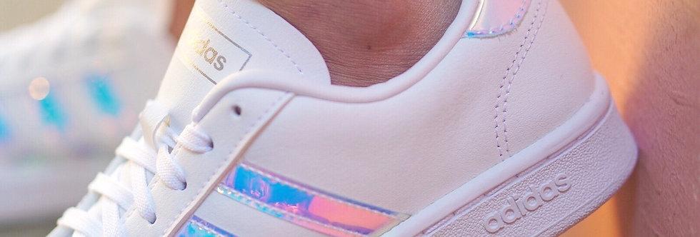 "adidas Grand Court ""Pink Hologram"""