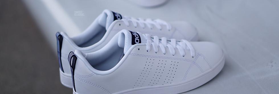 "adidas NEO Advantage Clean VS  ""White - Collegiate Navy"""