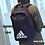 "Thumbnail: adidas Classic Logo Backpack  ""Core Black / Pink-Night Metallic / Core Navy"""