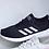 "Thumbnail: adidas NEO Label QT Flex  ""Black-White / Black-Trace Pink / White-Aero Pink"""