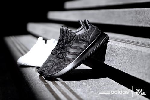 59f02f1ffc6 ... hot adidas neo label cloudfoam ultimate triple black triple white 57b2b  30d75