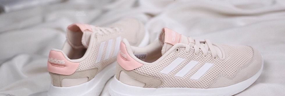 "adidas Archivo ""Linen White - Glow Pink"""