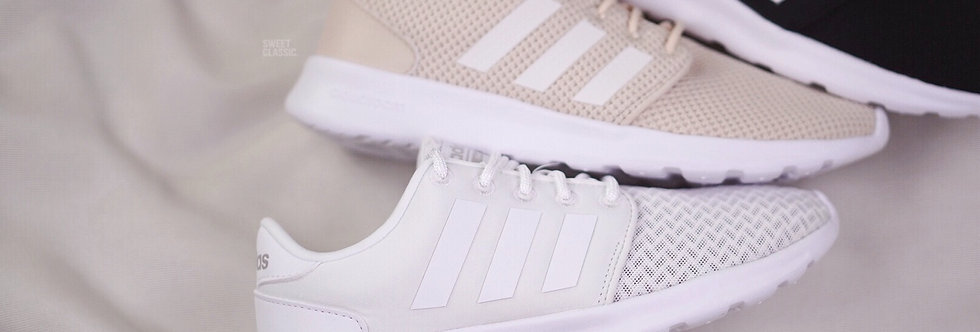 "adidas Qt Racer ""Cloud White / Linen / Black"""