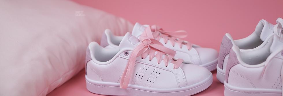 "adidas NEO Cloudfoam Advantage Clean ""Aero Pink"""