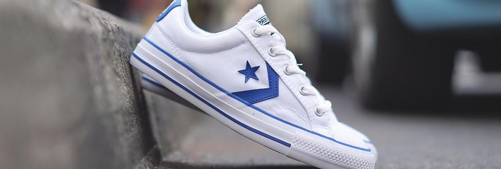 "Converse Star Player Marked ""Light Blue"""