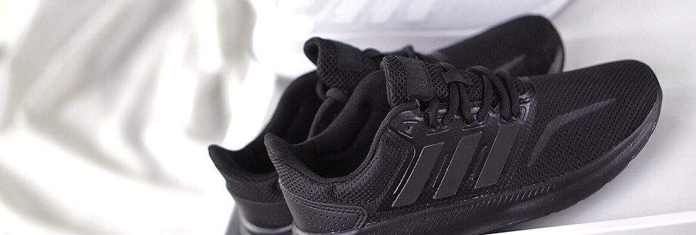"adidas Runfalcon K ""Triple Black / Triple White"""