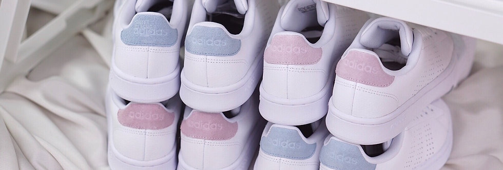 "adidas Cloudfoam Advantage ""Pastel Blue""❄️"