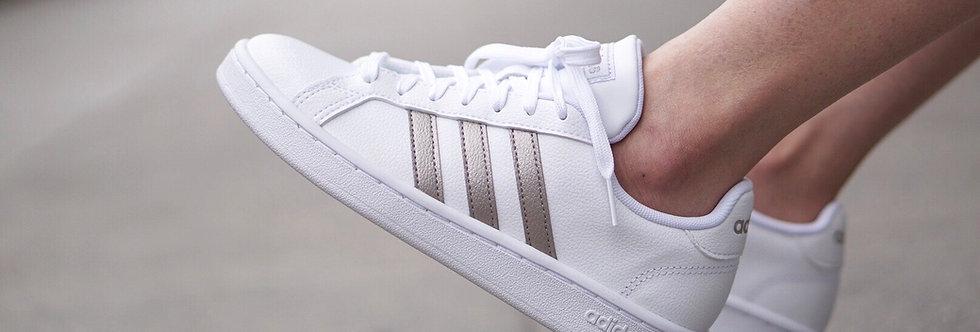 """adidas Grand Court """"Platinum Metallic"""""""