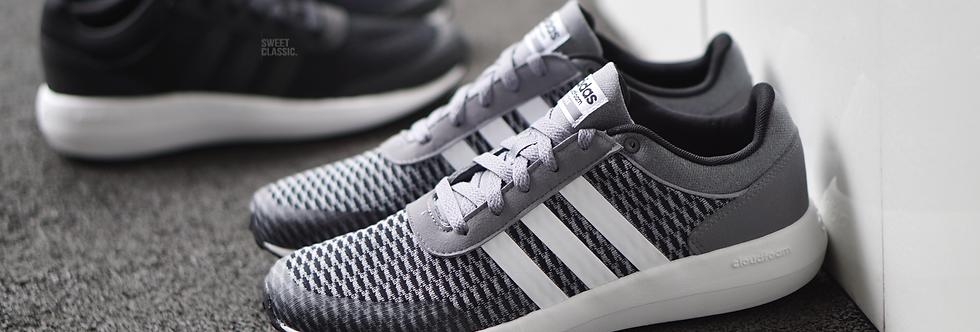 "adidas NEO Cloudfoam Race ""Core Black -Grey"""