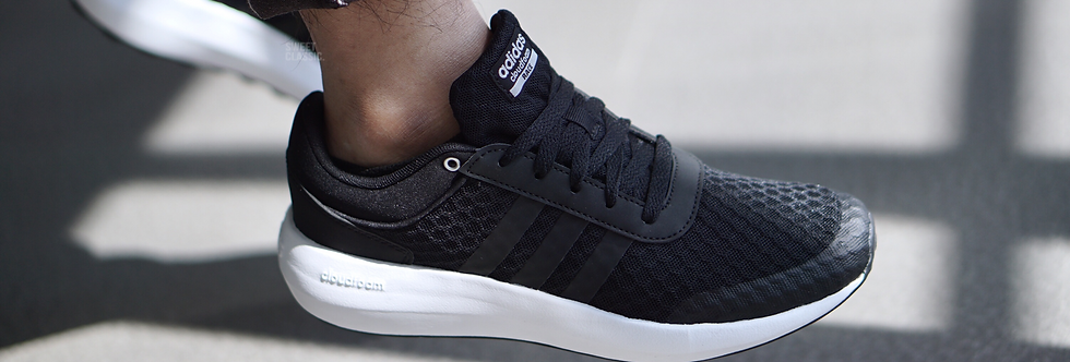"adidas NEO Cloudfoam Race ""Core Black"" (Men's & Women's)"