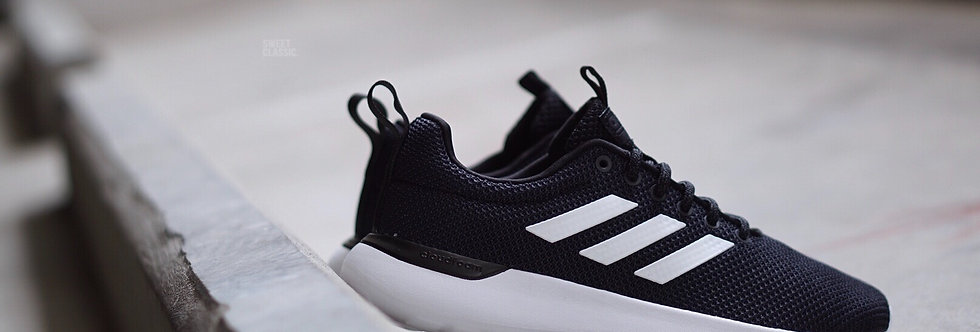 "adidas CF Lite Racer Cln ""Core Black-Grey Six"""