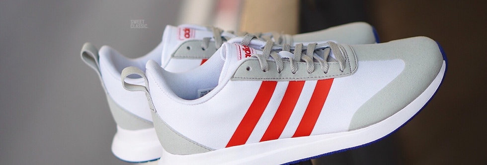 "adidas Run 60'S ""Cloud White-Red"""