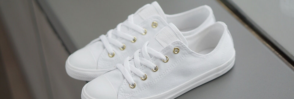 "Converse All Star Dainty ""Triple White"""