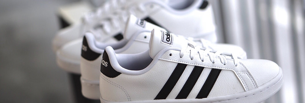 "adidas Grand Court ""White-Black"""