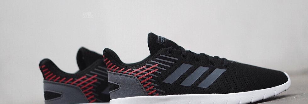 """adidas Asweerun """"Black-Scarlet Red"""""""