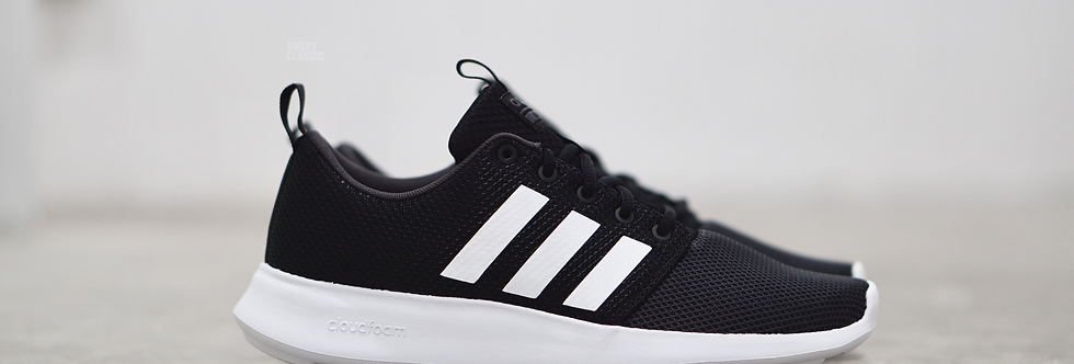 "adidas NEO Cloudfoam Swift Racer ""Core Black"""