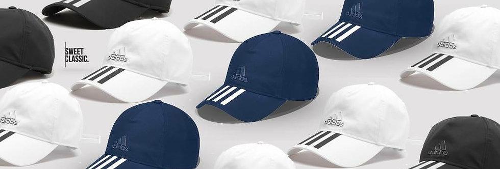 "adidas 3-Stripes Climalite® Cap  ""Collegiate Navy / FTW White / Core Black"""