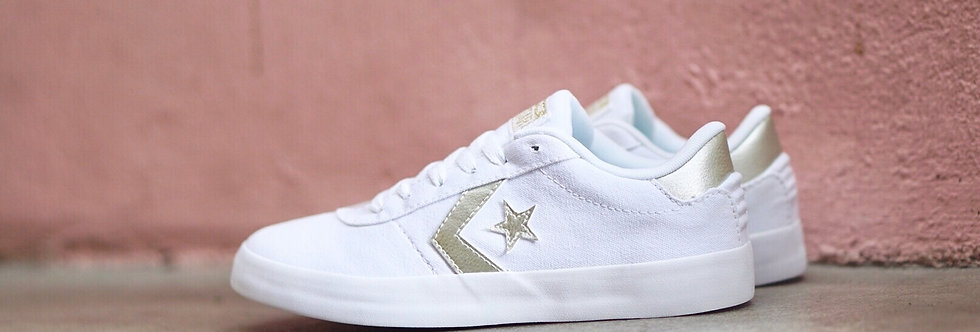 "Converse Point Star ""Metallic Champagne Gold"""