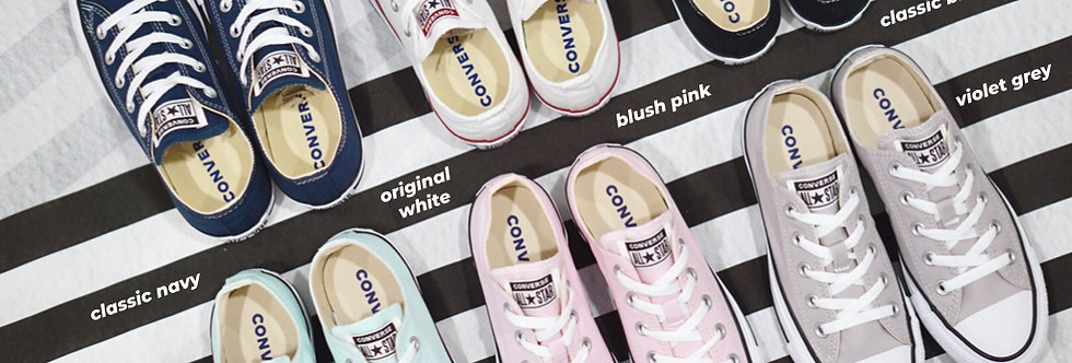 """Converse Chuck Taylor All Star Spring""""19 """"Blush Pink / Peppermint Green / Grey"""""""