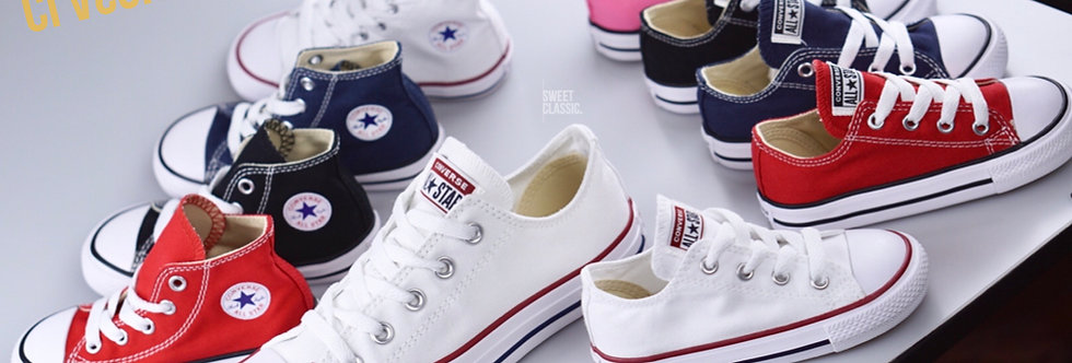 Converse All Star Classic Kids Collection Fall '18