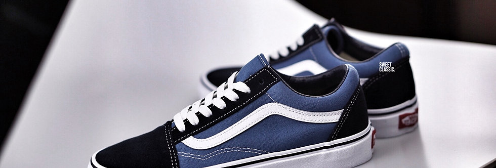 "Vans Old Skool Classic ""Navy-White"""