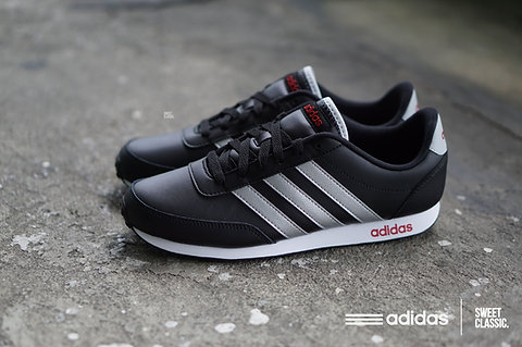 united kingdom buying cheap special sales adidas NEO V Racer Core Black