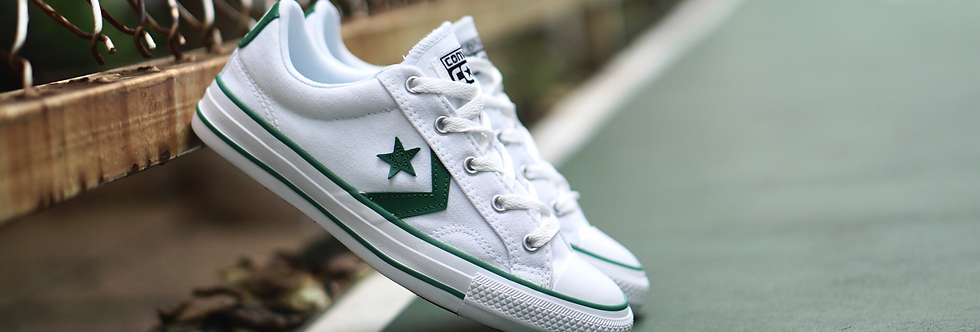 Converse Star Player Marked Green Ox