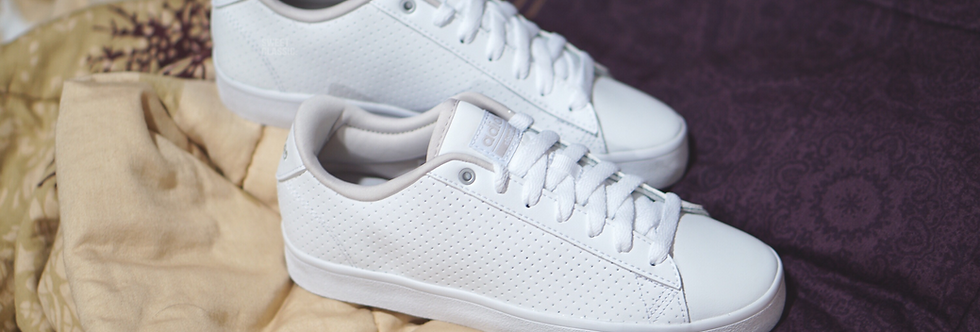 "adidas NEO Cloudfoam Daily Qt Clean ""Pearl White"""