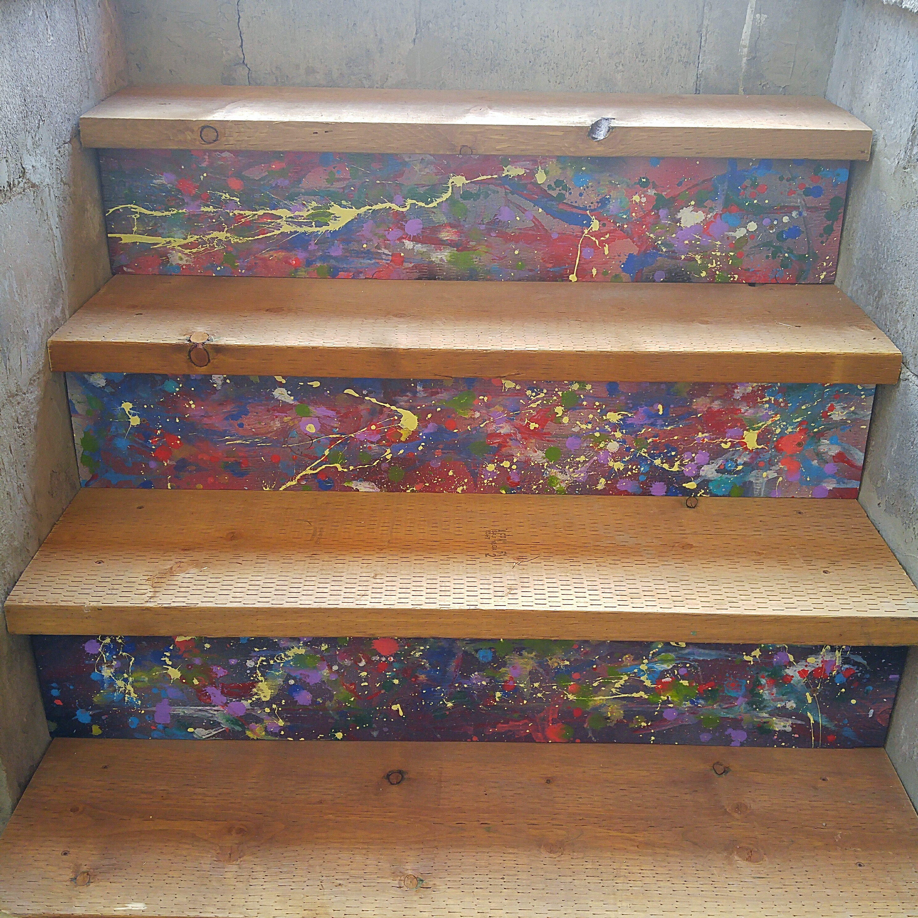 Entry way stairs