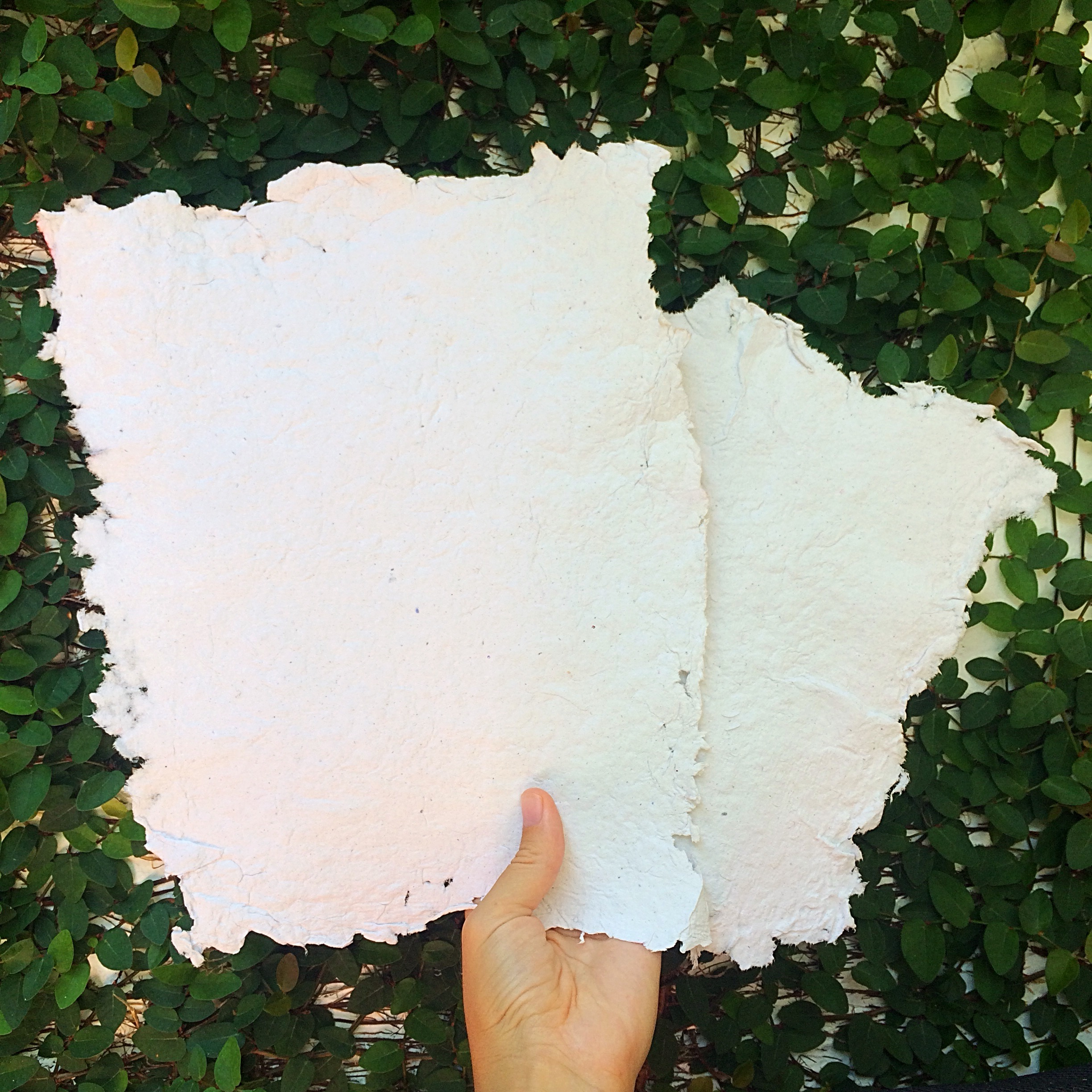 Hand crafted paper