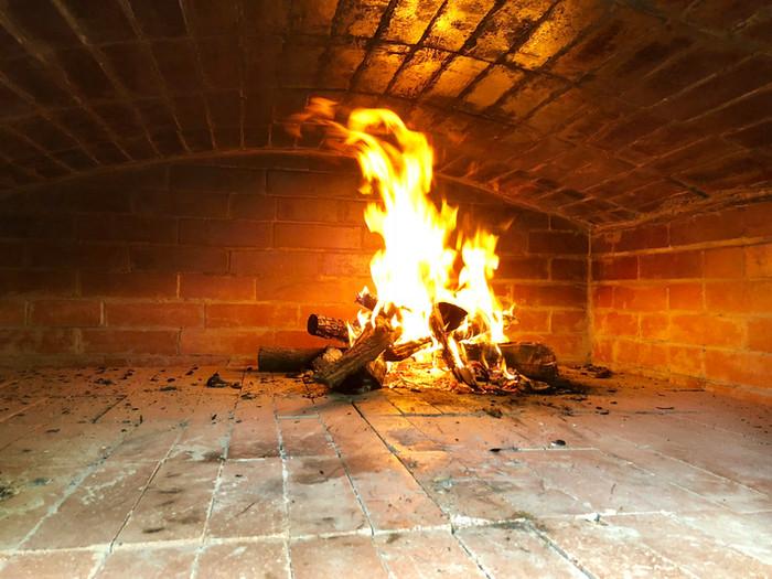 Brick Oven Fire