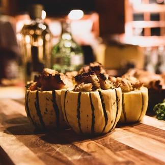 Vegan Stuffed Delicata Squash!__#Thanksg