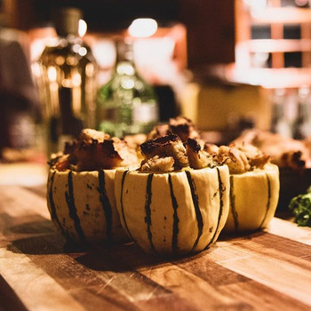 Vegan Stuffed Delicata Squash__#Thanksg