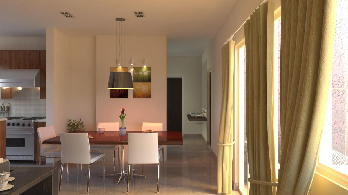 Yash Elina 3 & 3.5 BHK Living Room -kothrud