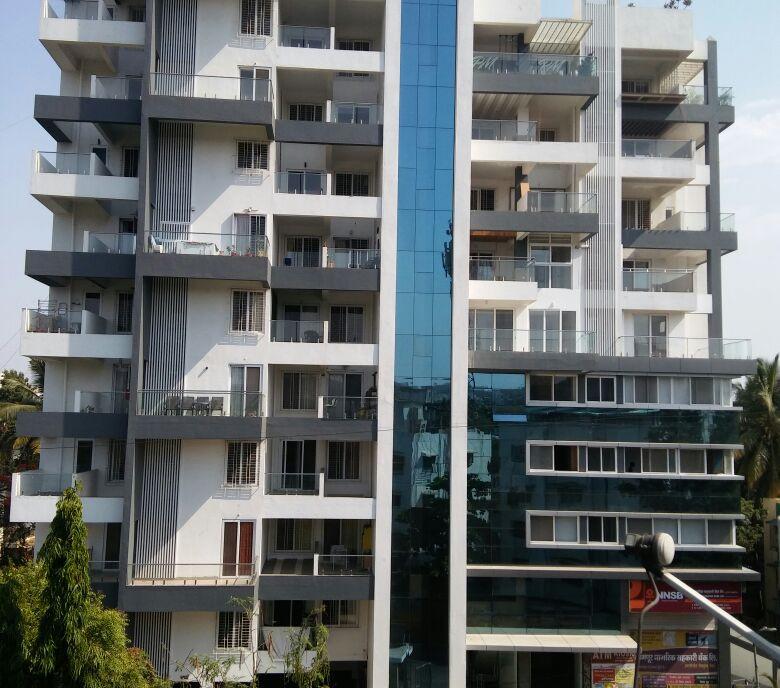 Yash Elina Elevation Actual View- Kothrud
