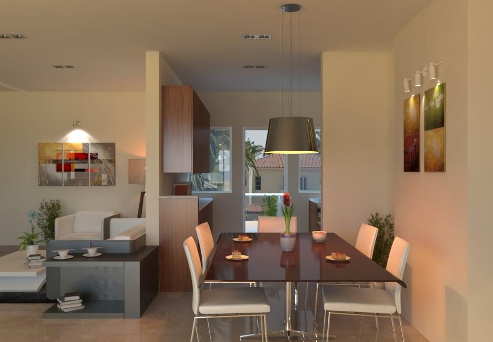 Yash Elina 3 & 3.5 BHK Dinning Room View