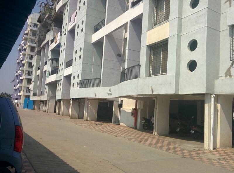 Yash Platinum Building View-Dhayari