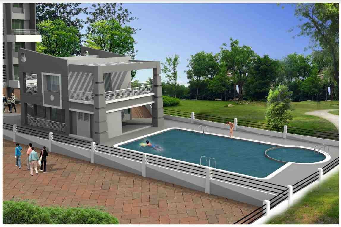 Yash Orchid Swimming Pool View -Baner
