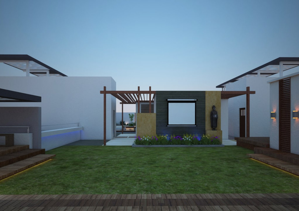 Yash Elina Terrace_Garden- View-kothrud