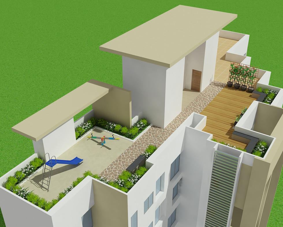 Yash Rhythm Terrace Garden View-Kondhwa
