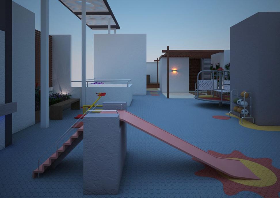 Yash Elina Terrace_Garden-play_area View