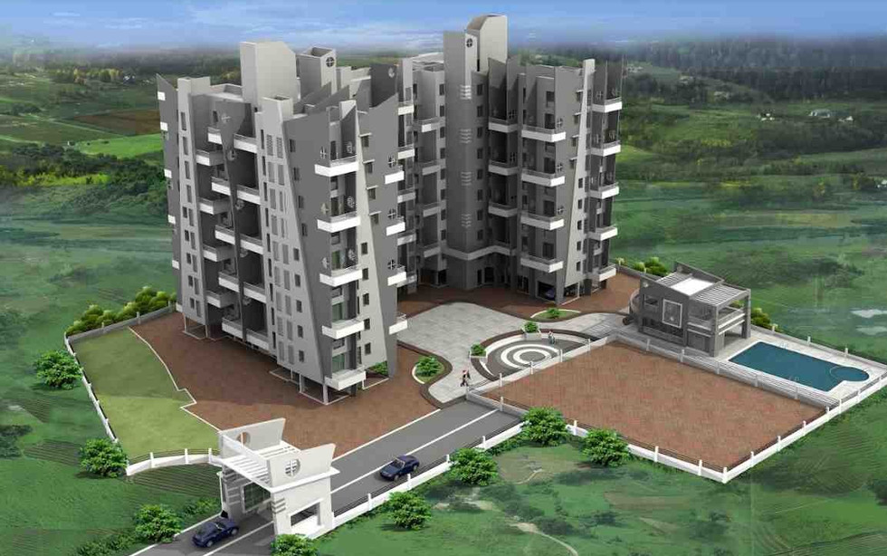 Yash orchid Elevation View-Baner