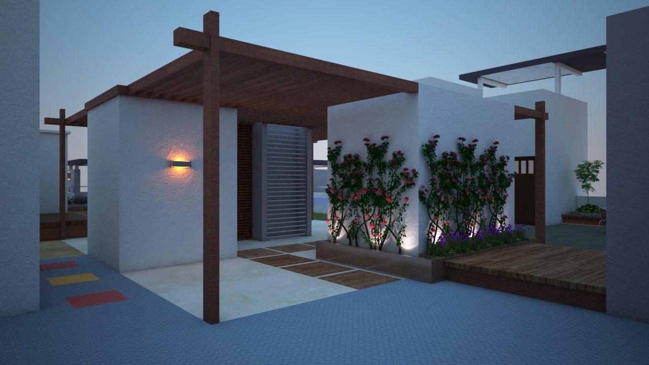 Yash Elina Terrace Garden View-Kothrud