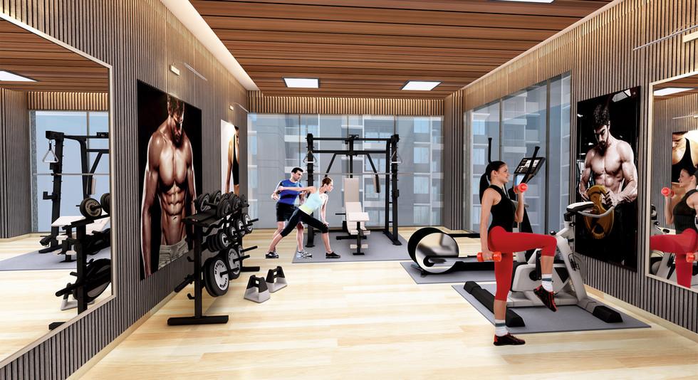 Yash Florencia Gym View-Kondhwa