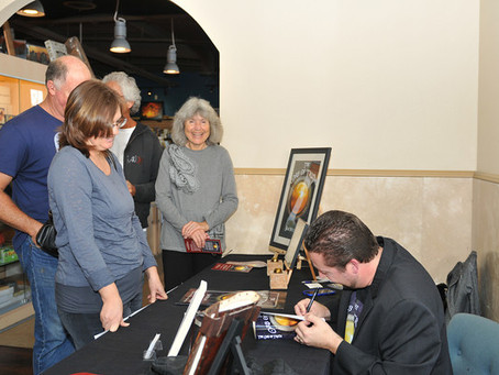 First Book Signing- Dec 8th, 2012