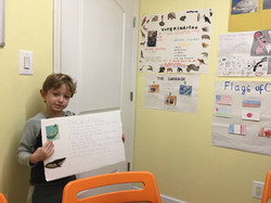 English language - sea animals presentation