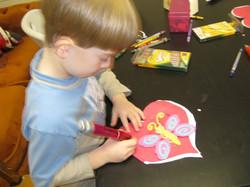 Art & Craft - butterfly heart