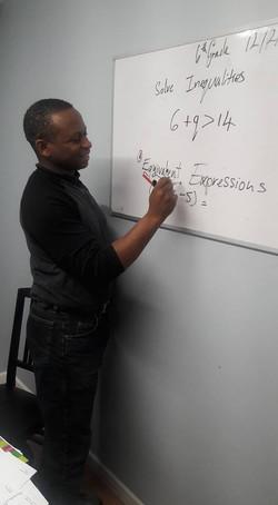 Math class - a lecture