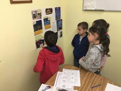 English language class - groupwork