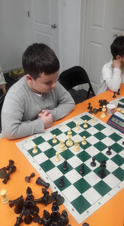 Chess class - endgame with knights